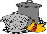 pasta cooker and colander