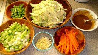 vegetables for gluten free recipe